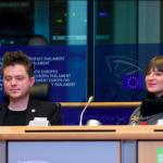 Speaking at EUROPEAN PARLIAMENT