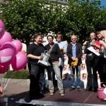 Die Drittplatzierten: Belinda Petri und Pascalina Vretinari!