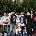 Der glückliche Gewinner: Christian Kayser!