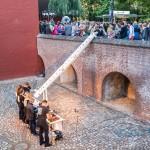 Fördermaßnahme beim Kulturfest der Städteregion Aachen in Alsdorf